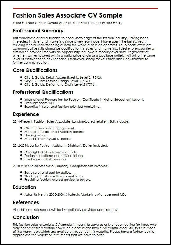 Cv For Sales Assistant Buying A Research Paper For College Template Mahasiswa