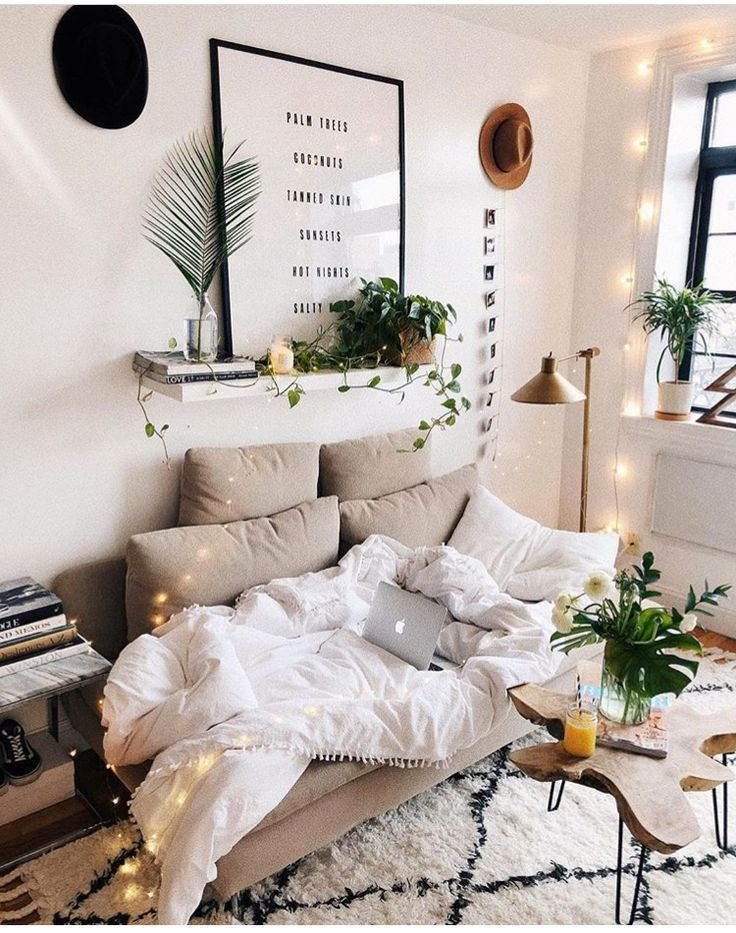 Home Decorating Ideas Cozy Rug And Plants Apartment Decorating