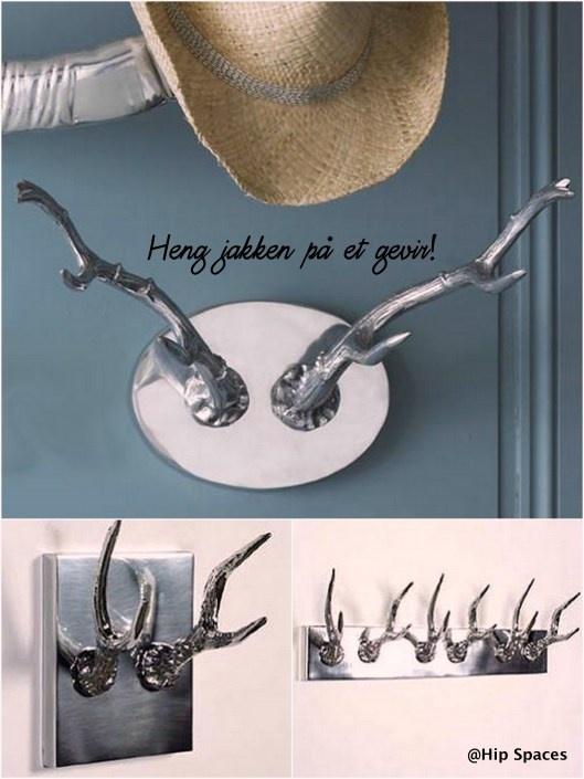 lakkerte horn