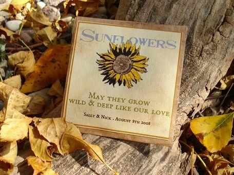 The 25+ best Sunflower wedding favors ideas on Pinterest ...