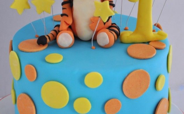 Kindertorte Geburtstagstorten Bilder Tortendeko Tiger