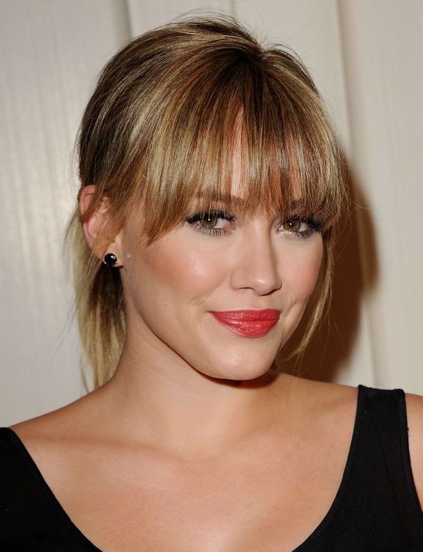 La frange d'Hilary Duff                                                                                                                                                      More