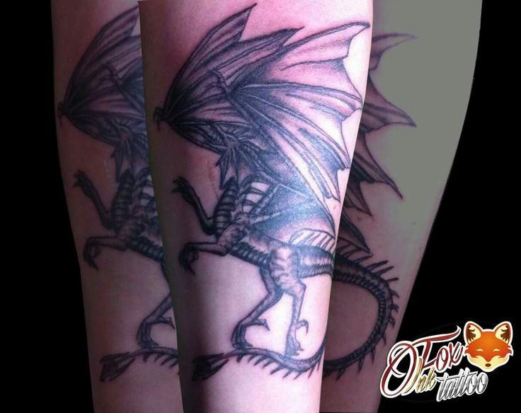 #FoxInkTattoo #Tattoo #Dragon #DragonTattoo #TattooShadow