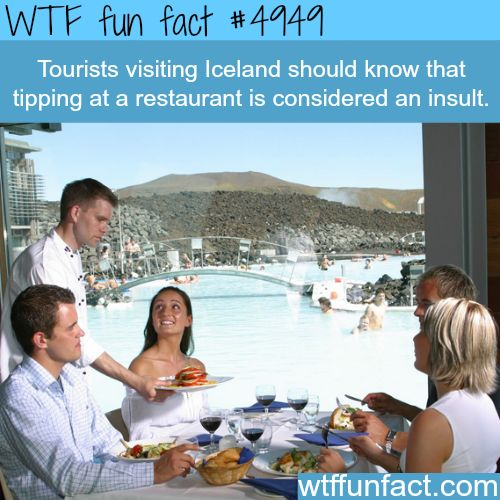 nice WTF Fun of the day - Tipping is considered as an insult