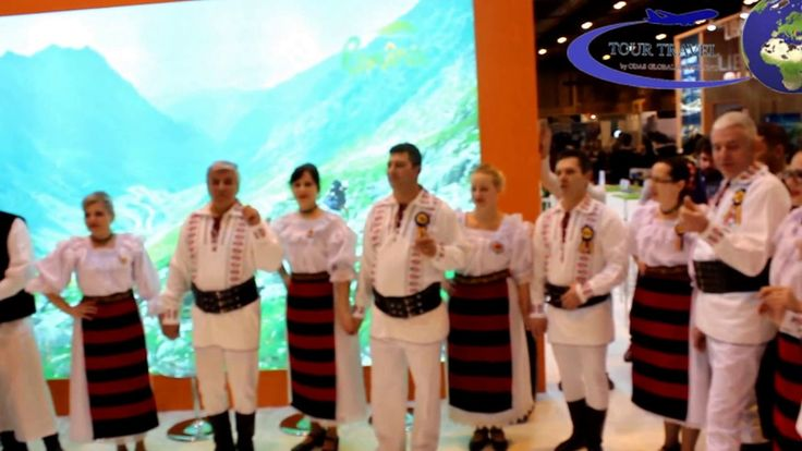 Discover Romanian Traditions and Folklore with Tour Travel by Odas Global Consulting: http://www.discoveringtransylvania.ro  A session of Romanian Traditional dances at Fitur2017 Madrid - Fitur, International Tourism Fair in Spain.