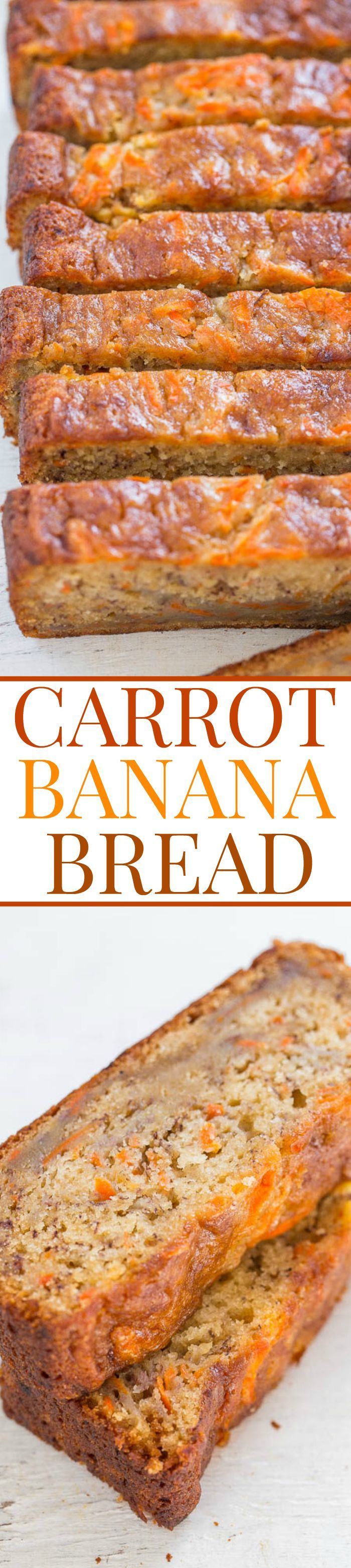 I have every possible combination of carrot + apple + zucchini + blueberry + banana quickbread. Or so I thought. But I don't have this combo. Springtime and Easter make me think of carrot cake, which I love, but since I have multiple recipes for it I wanted to change things up a bit. Enter this super …