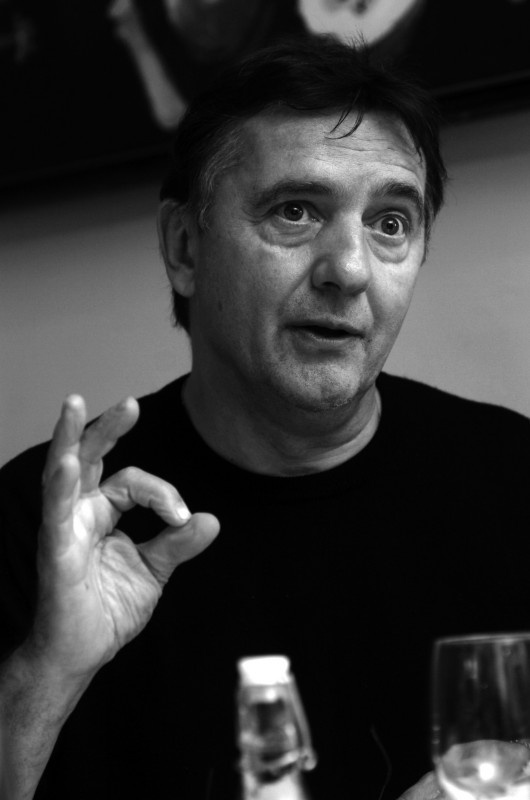 Raymond Blanc @ Brasserie Blanc. This takes you to their website and info. I enjoyed reading the menu and he also shares some recipes.