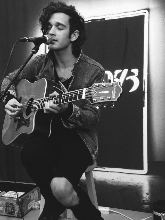 Matty Healy - the 1975. He's a pretty neat singer.