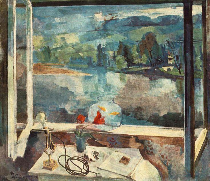Bernáth Aurél (1895-1982): Reggel (1927; olaj, vászon, 126 x 146 cm; Magyar Nemzeti Galéria, Budapest)
