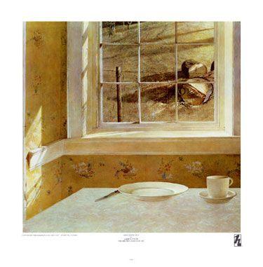 "Andrew Wyeth ""Groundhog Day"""