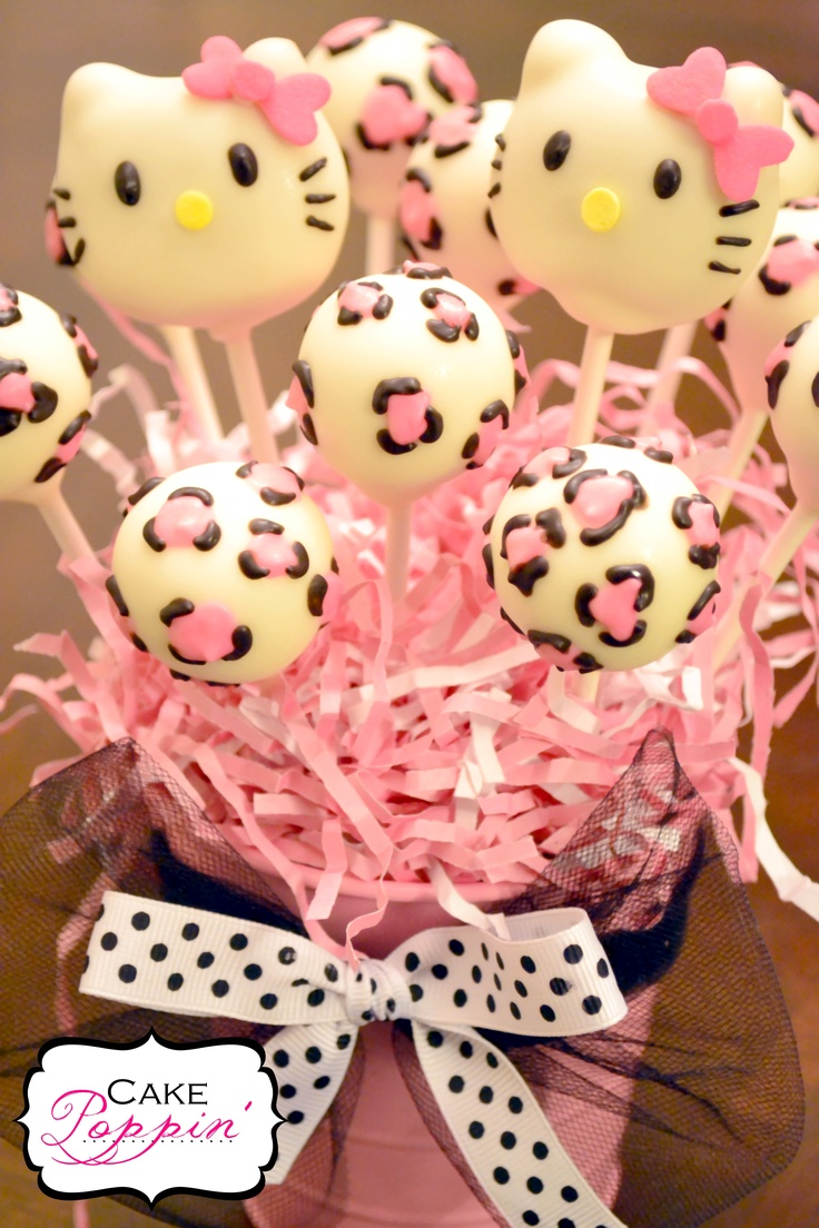 hello kitty cake pops - photo #31