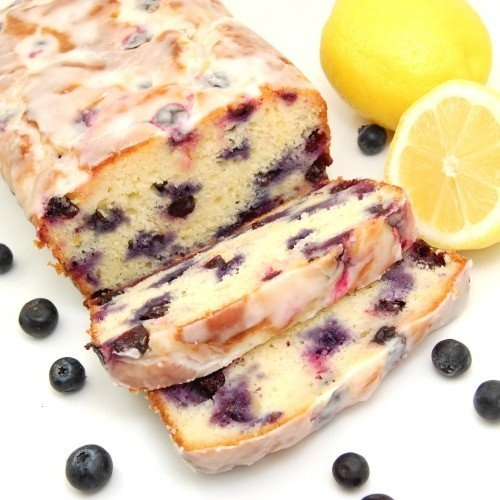 Lemon Blueberry Yogurt Loaf. Must make this!!