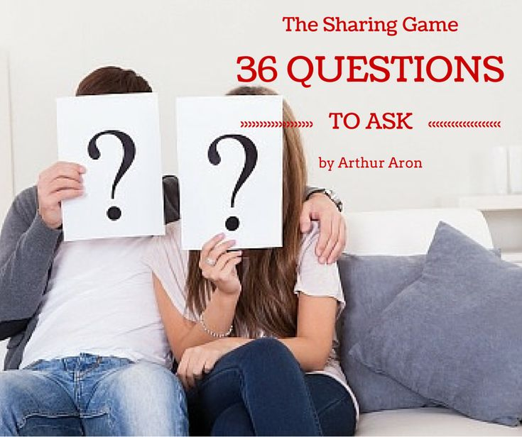 The 36 Questions That Lead to Love - The New York Times