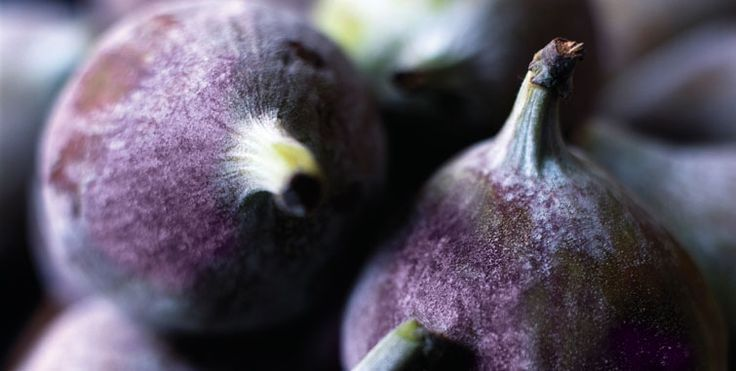 Violet colored figs
