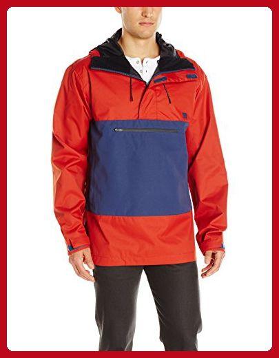 DC Men's Rampart Windbreaker 17 Jacket, Ketchup Red, Medium - Mens world (*Amazon Partner-Link)