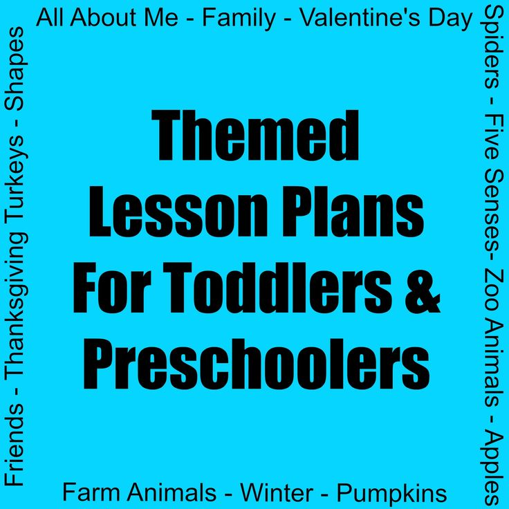 "Here are the ""tot school"" themed lesson plans I've created for my son: All About Me Apples Fall Family Farm Animals Five Senses Friends Pumpkins Shapes Spiders Thanksgiving Turkey..."
