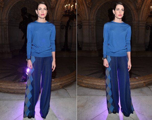 Charlotte Casiraghi attended the Stella McCartney show