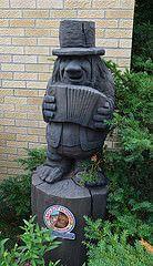 Mount Horeb Troll (afagen) Tags: sculpture wisconsin troll mounthoreb mthoreb
