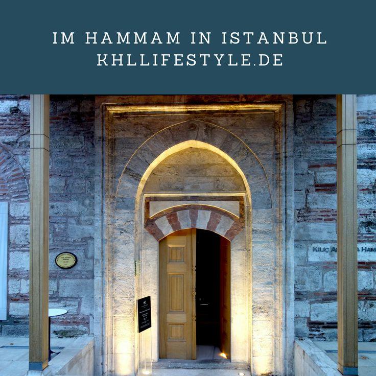 In Istanbul sollte man unbedingt in ein türkisches Bad gehen. Auf meinem Blog berichte ich von meinem Hammam-Abenteuer.