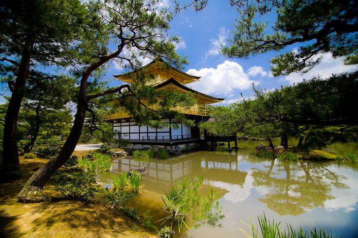 1000 ideas about temple of the golden pavilion on pinterest hiroshi yoshida kinkaku ji and for Garden pavilion crossword clue