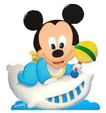 Resultado de imagen para mickey mouse bebe