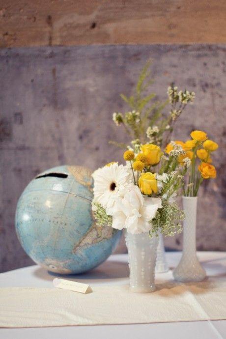 urne mariage globe voyages