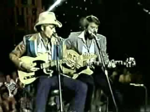 Jerry Reed & Glen Campbell - Guitar Man.  When these guys played together, nothing was better!