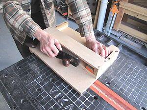 Beginners Shooting Board Woodworking Handplane Jig Appliance   eBay