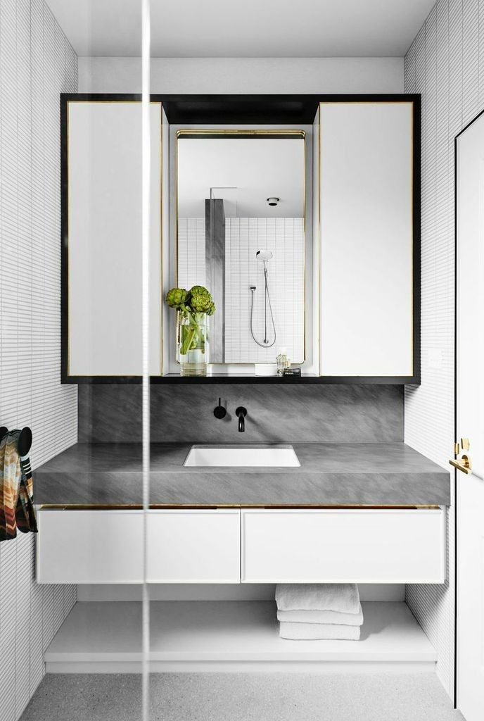 bathroom cabinets melbourne before amp after a melbourne remodel with a masculine touch 10390