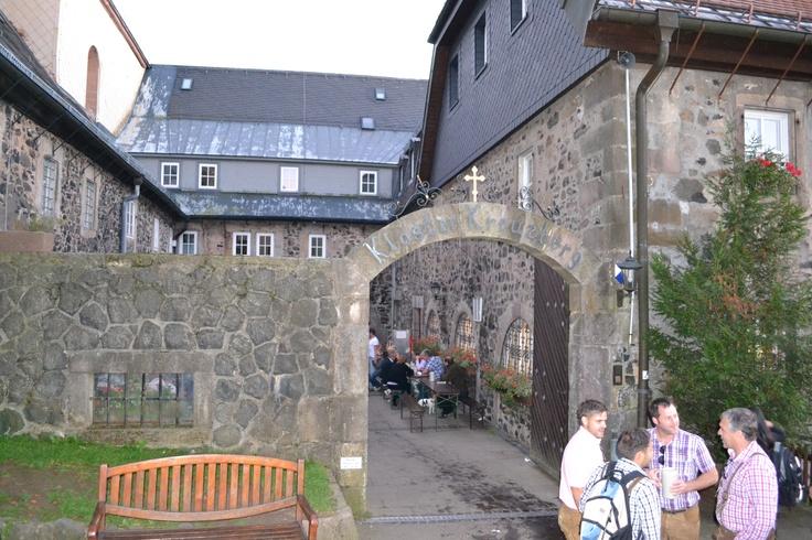 Best beer in the world!!  Kloster Kreuzberg Biergarten  Bavaria, Germany