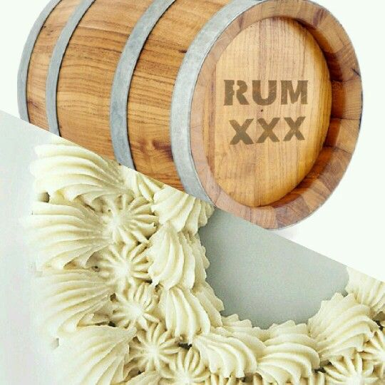 Rum Buttercream Frosting