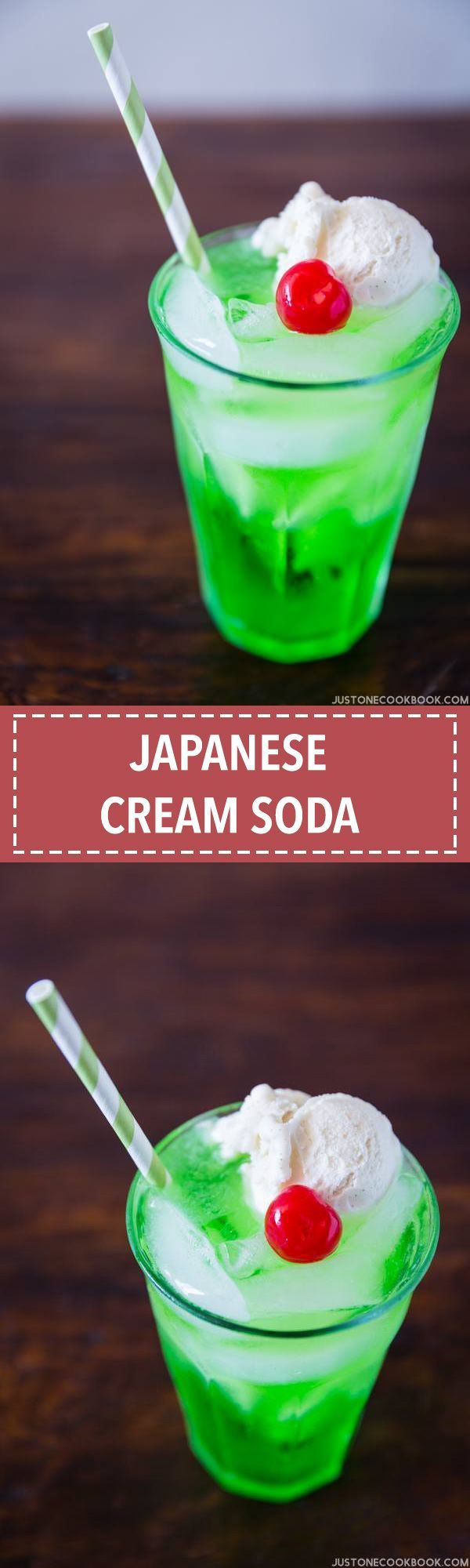 Japanese Cream Soda クリームソーダ | Easy Japanese Recipes at JustOneCookbook.com
