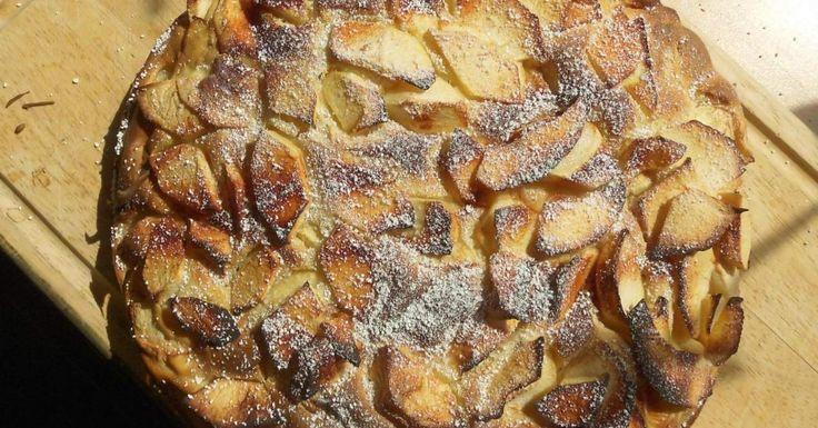 Kalorienarmer Apfelkuchen, ein Rezept der Kategorie Backen süß. Mehr Thermomix…