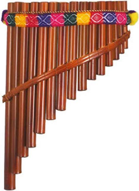 FLAUTA DE PAN Es un conjunto de instrumentos de viento compuestos de tubos huecos tapados por un extremo que producen sonidos aflautados.