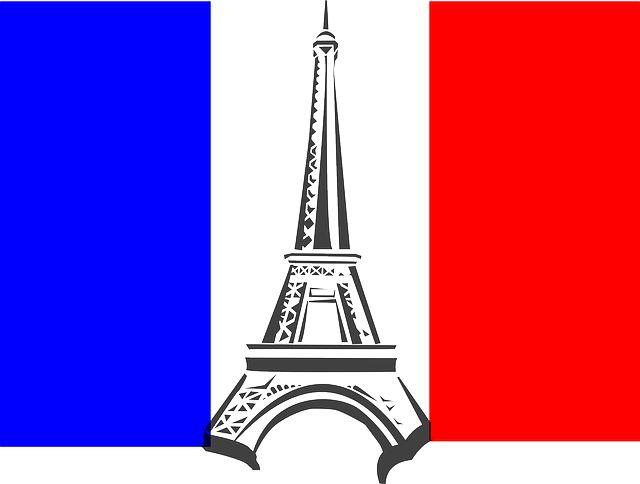 Eiffel Tower France Flag Tower French Paris