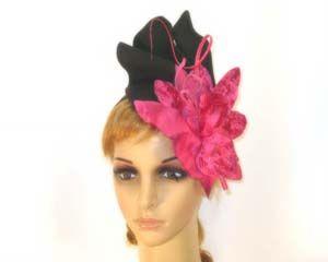 Winter fashion fascinator with flower buy online Australia F535BF