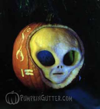 57 best images about aliens on pinterest for Alien pumpkin pattern
