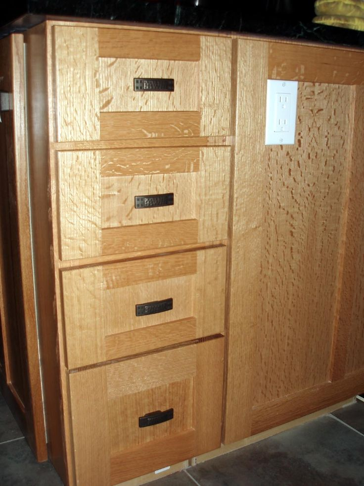 Recessed Cabinet Drawer Pulls