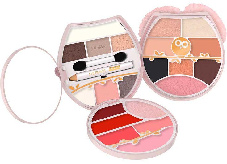Cajas de maquillaje Pupa Navidad 2017 Búho