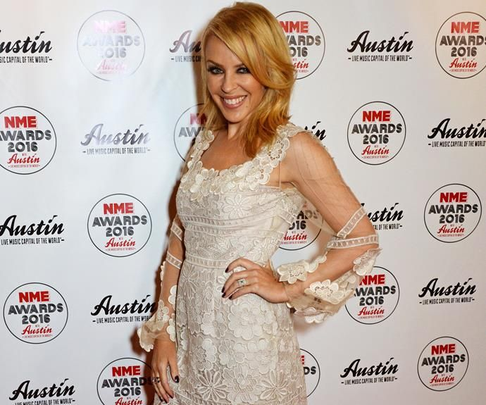 Is Kylie Minogue engaged?