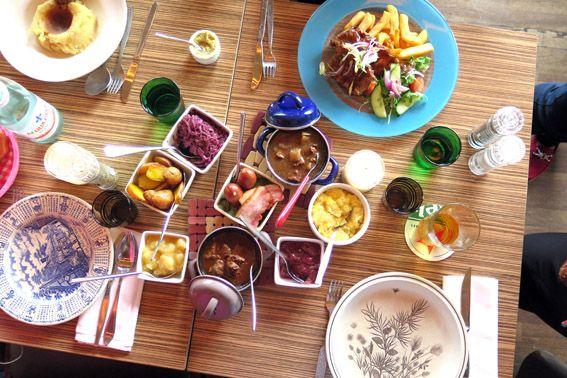 Onde comer em amsterdam com crian as restaurante moeders for Amsterdam b b centro