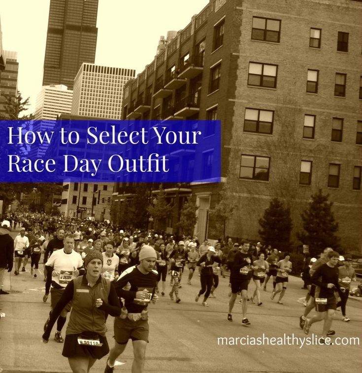 How to Select Your Race Day Outfit via @teamarcia