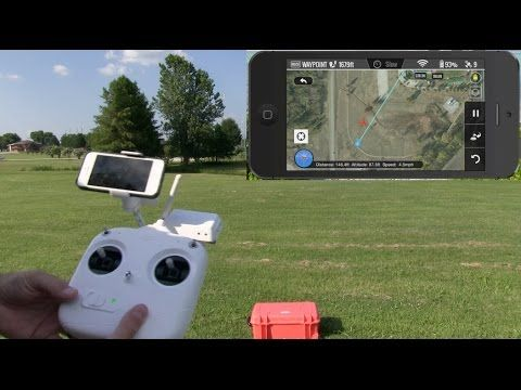 ▶ DJI Phantom 2 Vision Plus Ground Station Demonstration - YouTube