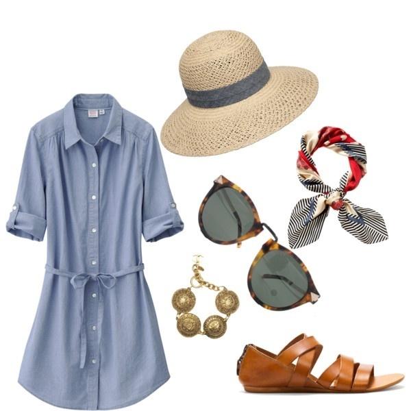 Summer outfits, Summer outfits, Summer outfits!!!: Denim Dresses, Summer Dresses, Fashion Ideas, Cute Outfits, Beaches Outfits, Summer Outfits, Shirts Dresses, Outfits Summer, Travel Outfits