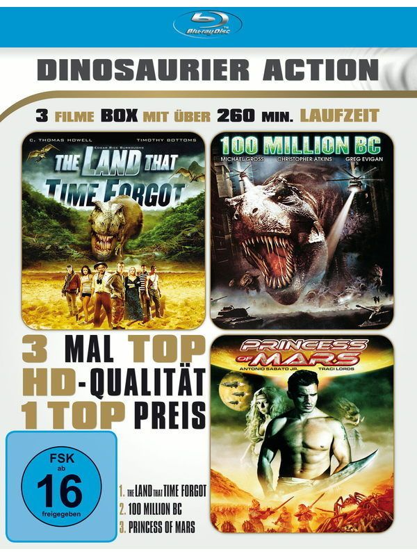 Dinosaurier Action Blu-ray
