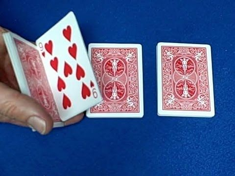 Easy Great Card Trick - Three pile key card count reveal