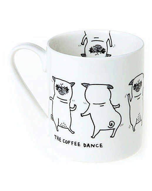This fabulous mug. | 21 Gifts For People Who Just Really Love Pugs