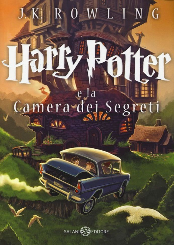 Harry Potter e la camera dei segreti di J.K. Rowling