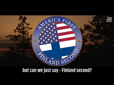 America First, Finland Second (OFFICIAL) | Noin Viikon Uutiset with Jukka Lindström - YouTube