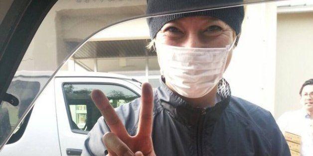 SMAP中居正広、再び熊本地震避難所へ、鶴瓶・岡村とともに